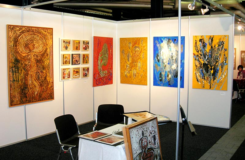 Stand Giuliani, Art Forum 2007, Montreux.